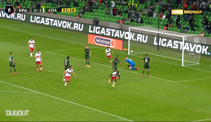 Best goals of week 12 in the Russian Premier League