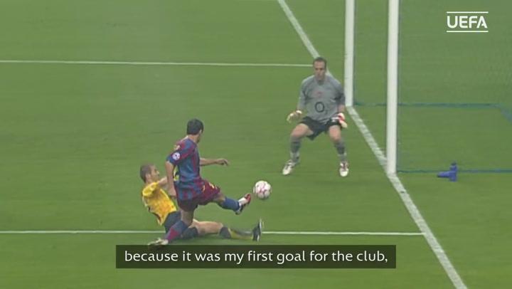 Así fue el gol de Belletti en la final de Champions League de París