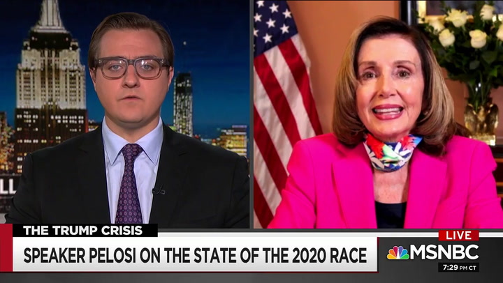 Pelosi: 'McConnell Is Not a Force for Good in Our Country' - Antidote to GOP 'Poison' Is Win the Senate