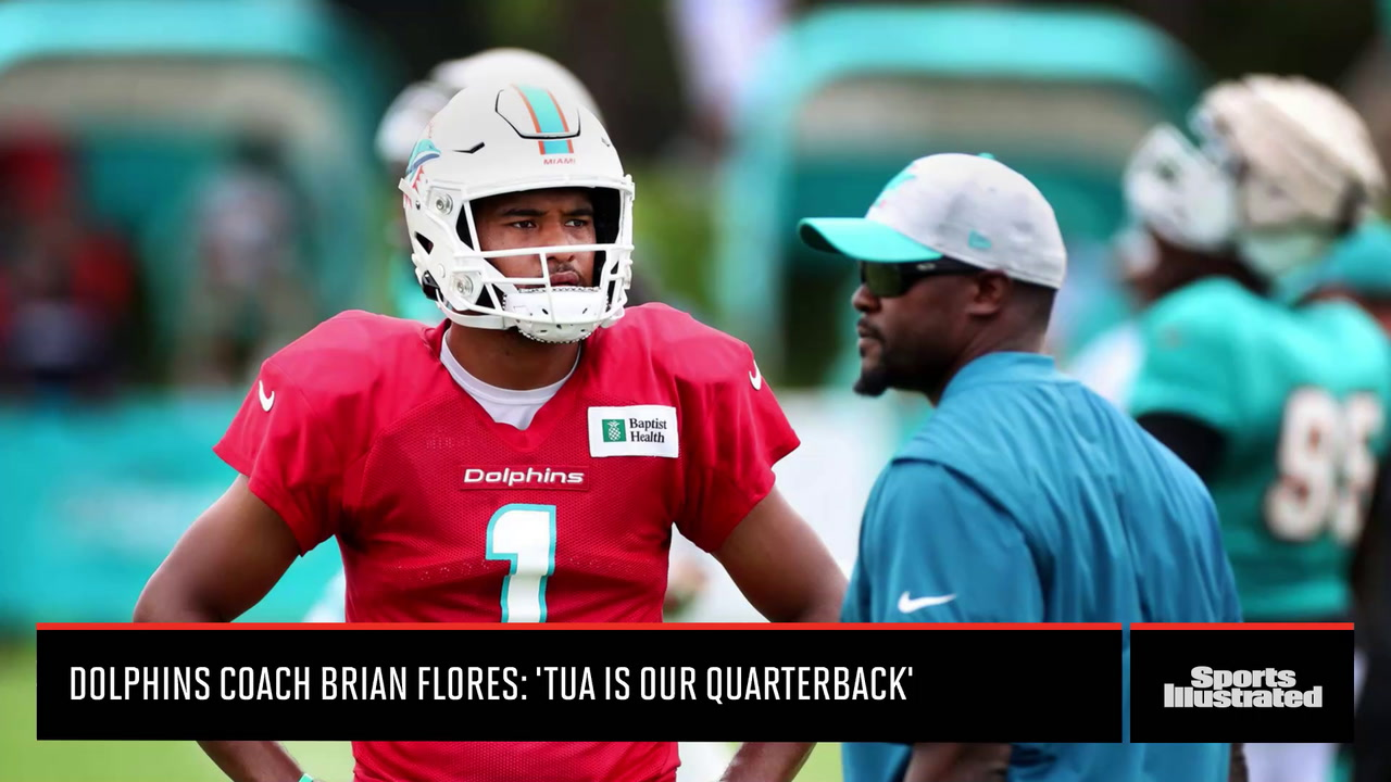 Miami Dolphins: Tua is Our Quarterback