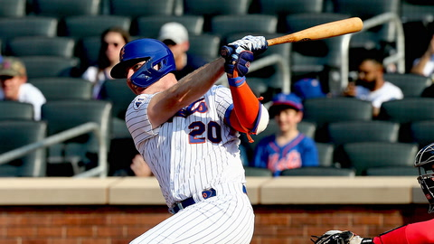 Pete Alonso backs up unshakeable optimism with big home run, helps Mets sweep Nationals