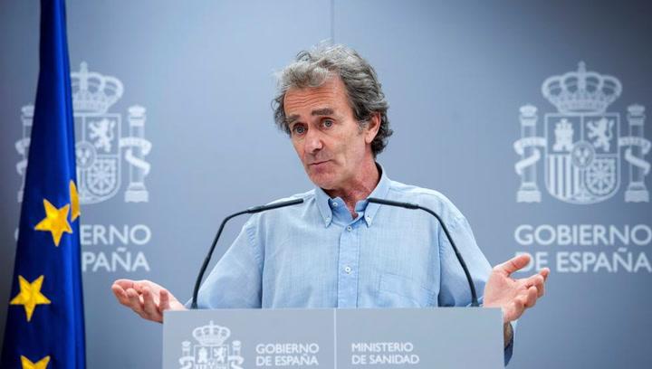"""Fernando Simón responde a una pregunta sobre su hijo: """"No voy a caer en la trampa"""""""