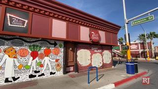 Reopening restaurants in downtown Las Vegas