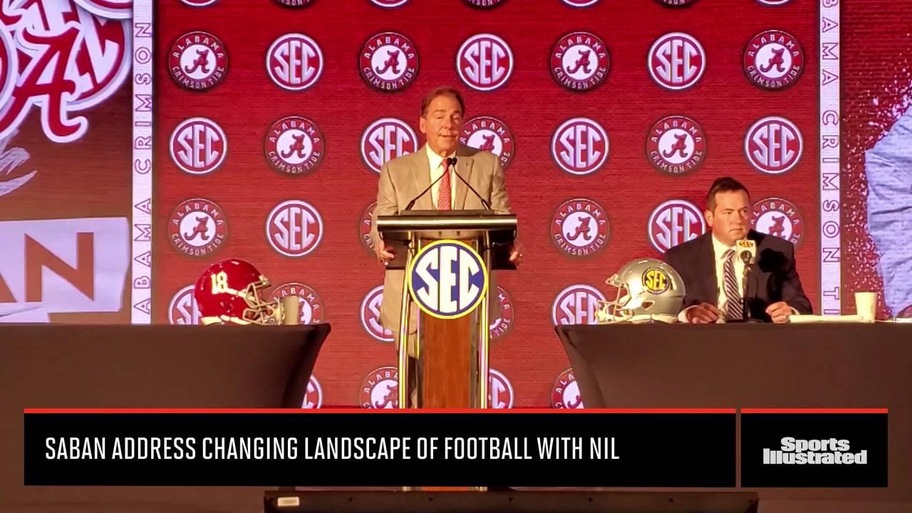 Nick Saban Addresses NIL Impact on College Football