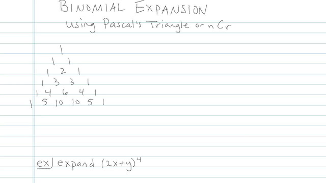Binomial Theorem - Problem 5