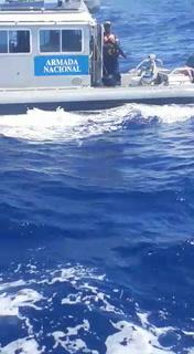 Incidente entre barcos pesqueros hondureños y Naval de Colombia