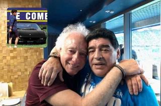 La historia del exclusivo Ferrari negro de Diego Maradona: Coppola logró lo imposible