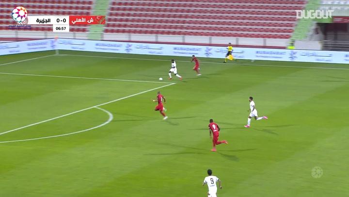Highlights: Shabab Al-Ahli 3-5 Al-Jazira