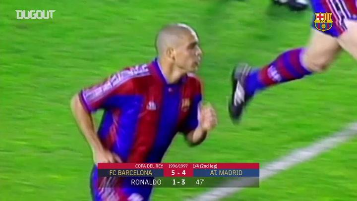 أبطال الهاتريك: رونالدو أمام أتليتكو مدريد