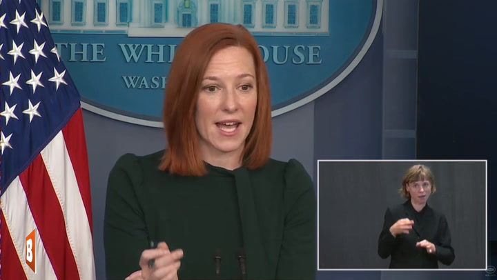 Jen Psaki Doesn't Have Many Updates for You Today...