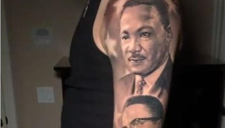 El increíble tributo de Lonzo Ball a la historia afroamericana en forma de tatuaje