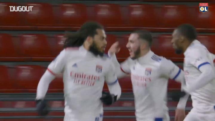 Jason Denayer's first 2020-21 goal vs Rennes