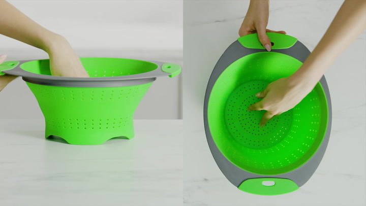 Preview image of OXO 3.5 Qt Collapsible Colander video