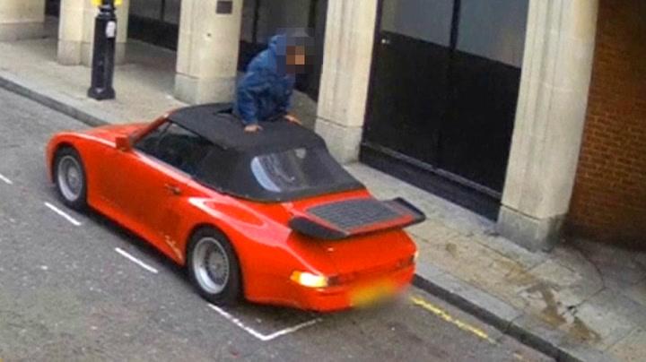 Fiasko-tyv klarte ikke stjele Porsche