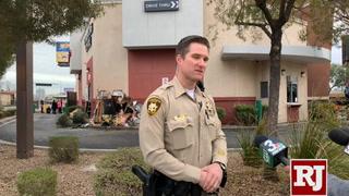 Car crashes into Starbucks near Las Vegas Strip
