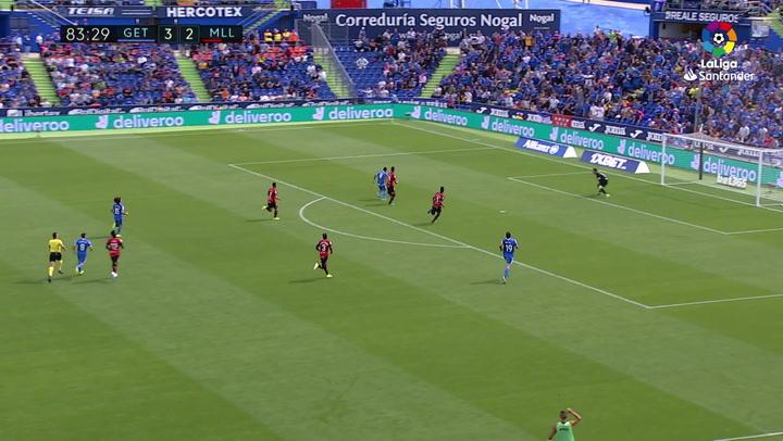 Gol de Ángel (4-2) en el Getafe 4-2 Mallorca