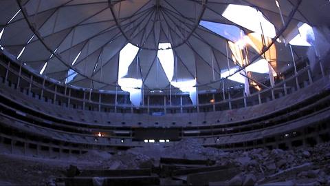 En este video podés ver la destrucción de un estadio en 15 segundos