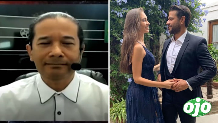 Reinaldo Dos Santos confirma que Natalie Vértiz y Yaco Eskenazi serán padres por segunda vez