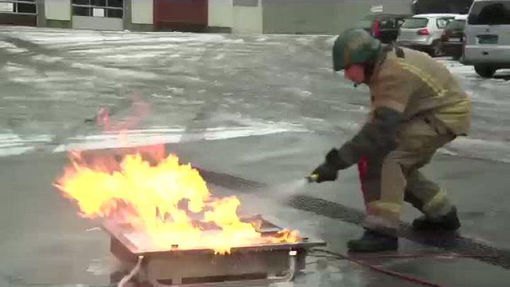 Hvordan slukke en brann