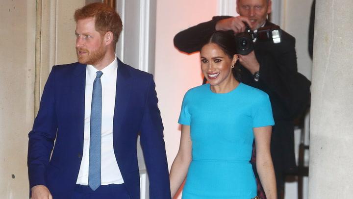 La esperada reaparición de Meghan Markle junto al príncipe Harry en Reino Unido