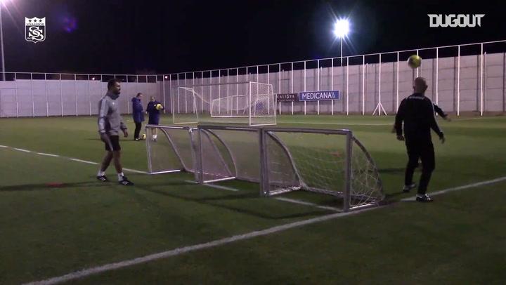 Sivasspor, Kayserispor maçı hazırlıklarına başladı