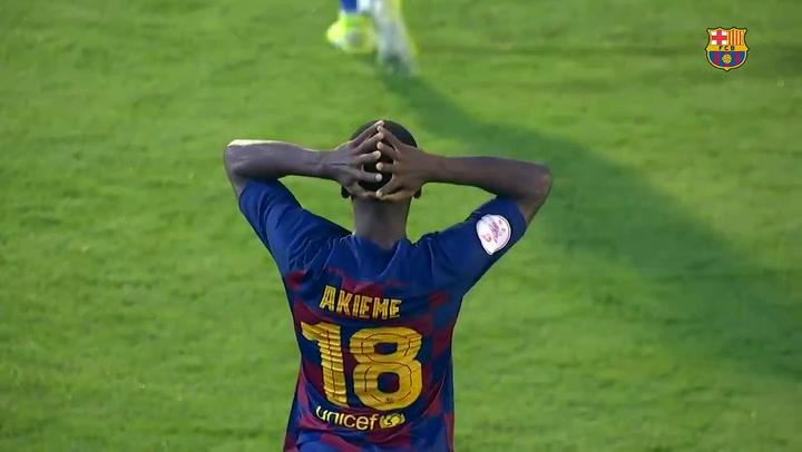 El resumen del Barça B - CE Sabadell