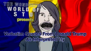 Romanian emo kid reads Trump quotes