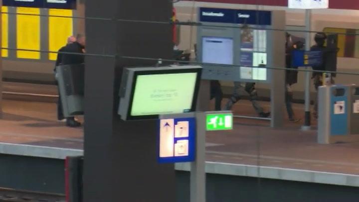Arrestatieteam haalt man uit wc Thalys
