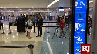 """First and only """"Innovation Checkpoint"""" is at McCarran International Airport"""