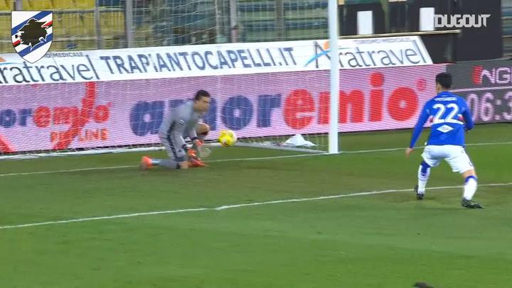 Audero's solid performance against Parma