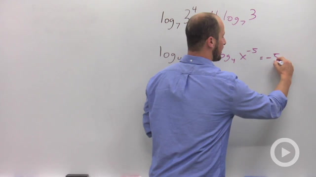 Power Rule of Logarithms - Problem 1