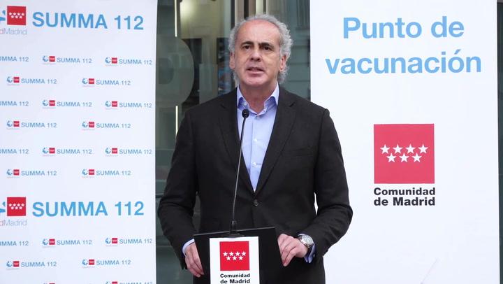Madrid solicita la vacunación voluntaria con las dosis de AstraZeneca