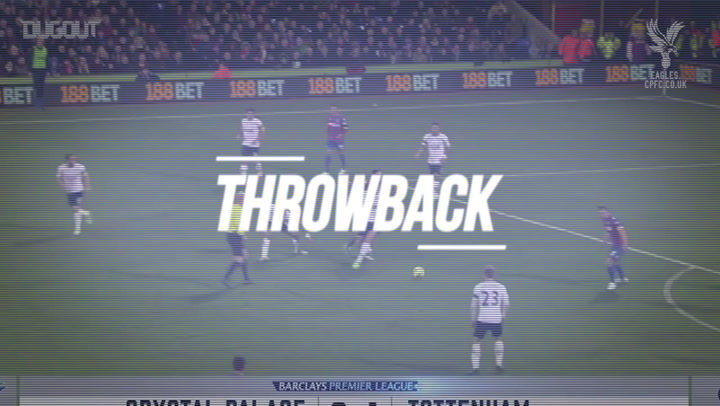 Throwback: Crystal Palace Fight Back To Beat Spurs