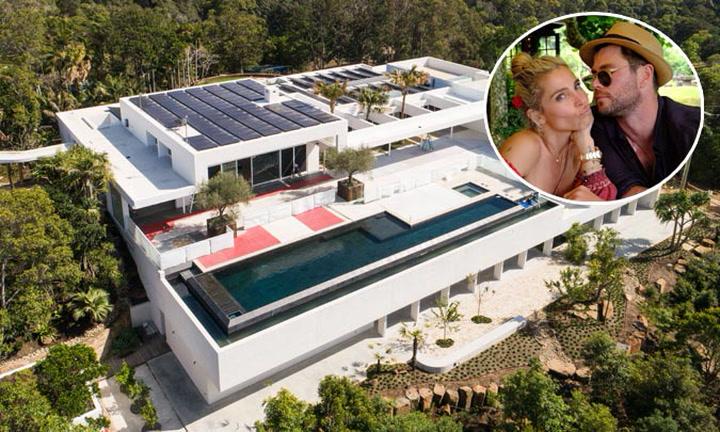 Mira cómo ha quedado la impresionante casa de Elsa Pataky y Chris Hemsworth