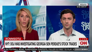 Jon Ossoff: Senator Perdue Is 'Absolutely' a 'Crook'