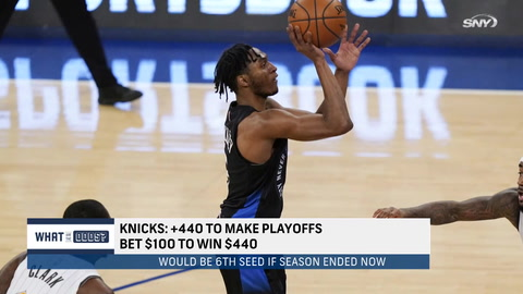 What are the odds the Knicks make the NBA playoffs?