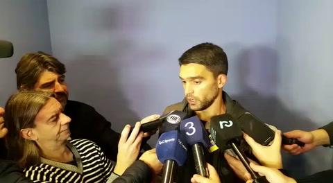 Caruzzo pasó la revisación y dijo que llegar a Central es un nuevo desafío que quiero disfrutar