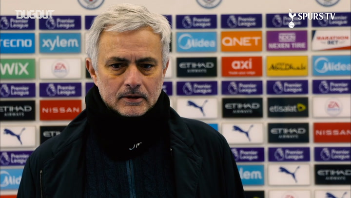 Mourinho sees positives after Man City defeat