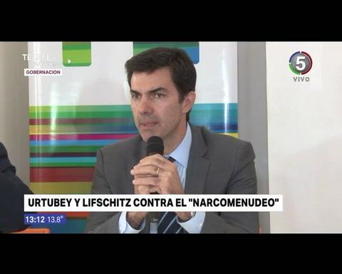 Salta nos sirve de ejemplo, dijo Lifschitz al hablar con Urtubey sobre la lucha contra el narcotráfico