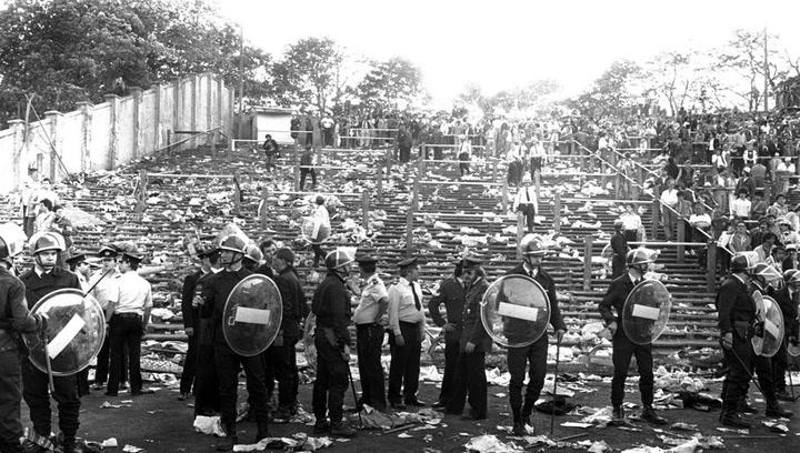 Heysel, el fin de fiesta más trágico
