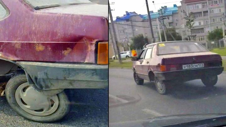 Bilisten kunne ikke skjønne hvorfor det gikk så sakte