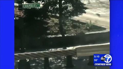 Difundieron un video del supuesto terrorista escapando por Manhattan