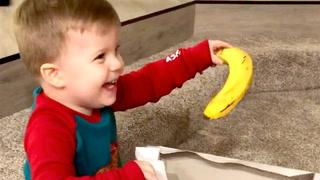 Faren traff blink: Mason (2) kan ikke tro hva han fikk til jul