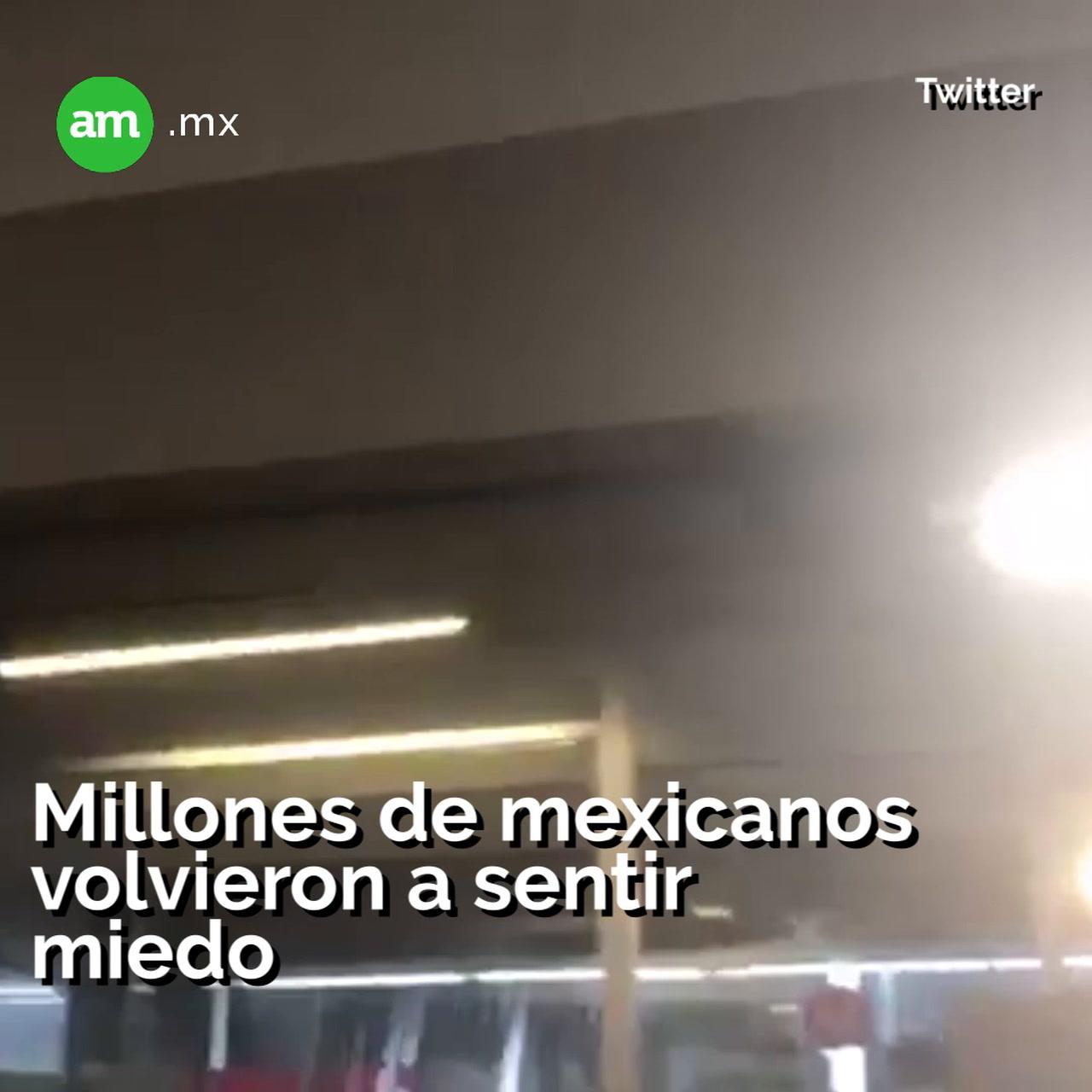 Regresa el miedo a CDMX y Oaxaca