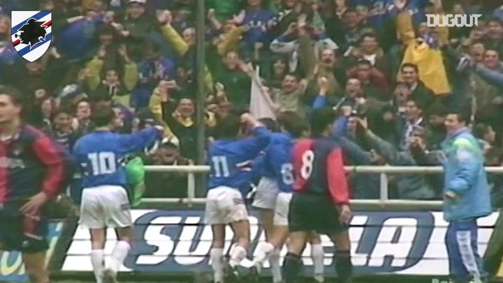 Sampdoria triumph 4-1 in the Derby della Lanterna