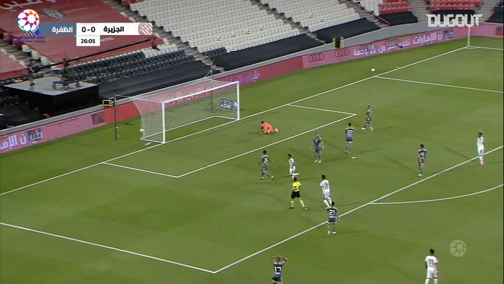 Highlights: Al-Jazira 1-1 Al-Dhafra