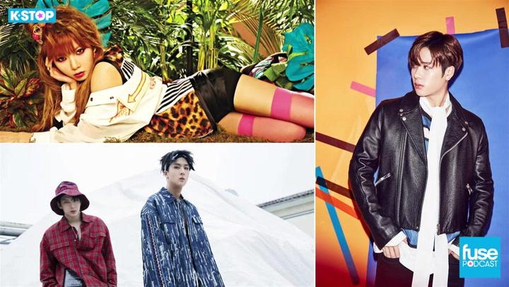 HyunA, VIXX LR, Jackson, and KCON 2017 Los Angeles Recap: K Stop