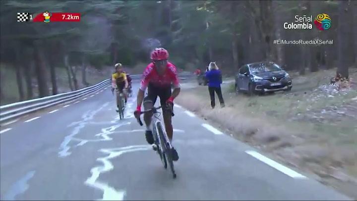 Nairo Quintana se estrena a lo grande con su nuevo equipo en el Mont Ventoux