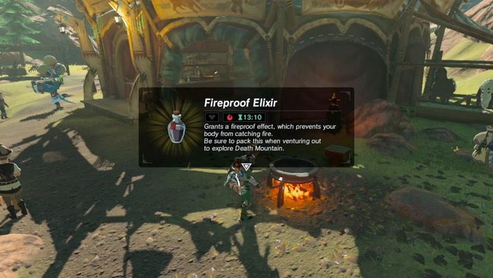What is Fireproof Elixir?