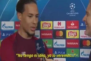 Van Dijk responde como va a deterner a Leo Messi: